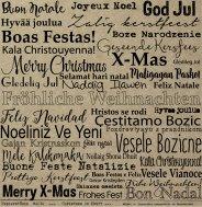 Weihnachtswünsche international