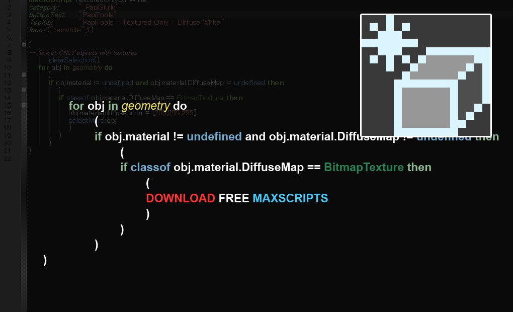 Free maxscript Freezy