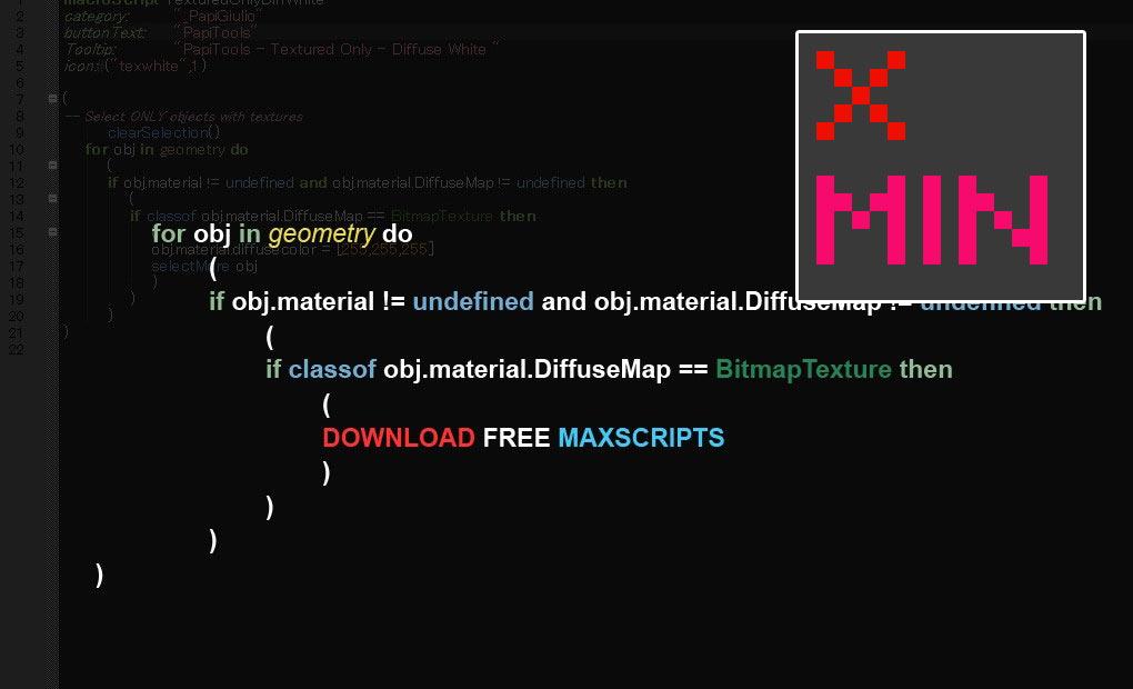 Free maxscript Quick Pivot