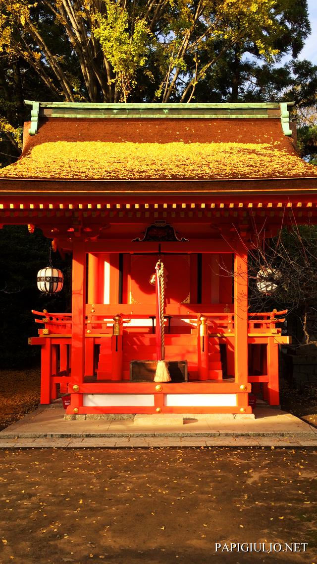 Japanese iPhone wallpaper download Kyoto Shrine