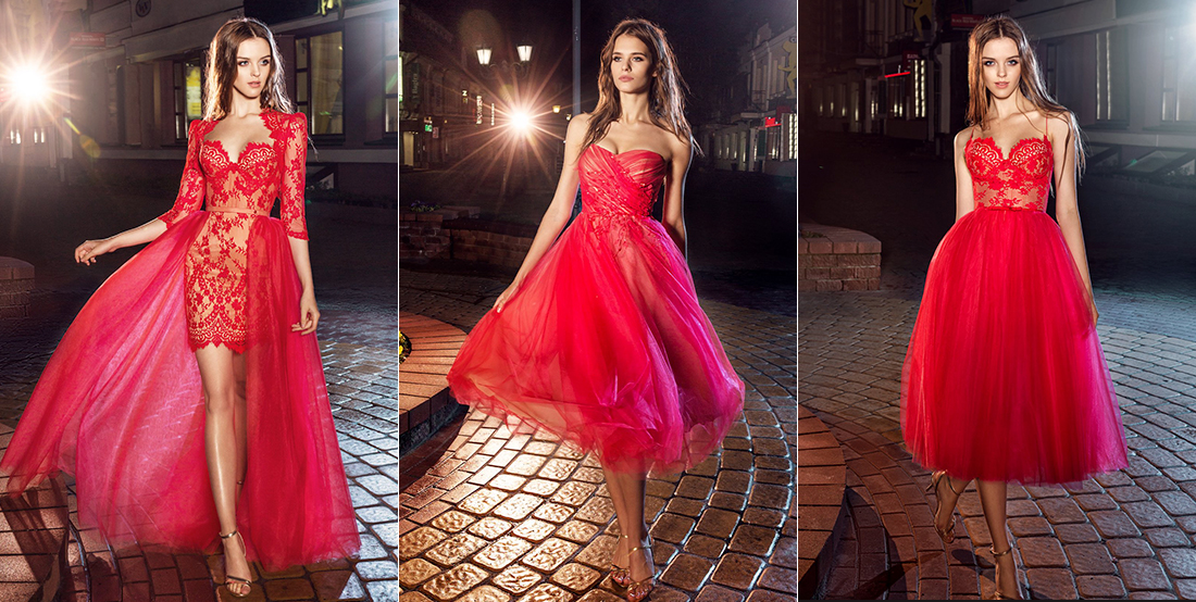 Red Evening Gowns From Papilio