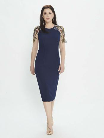 dress with high neckline