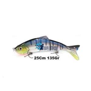 Leurre dur Swimbait réaliste 25Cm 135Gr