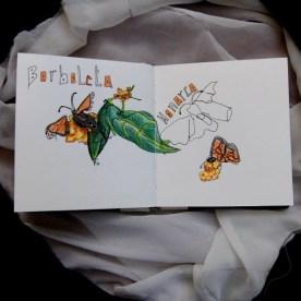 Borboletas Monarca no Borboletário de Cascais