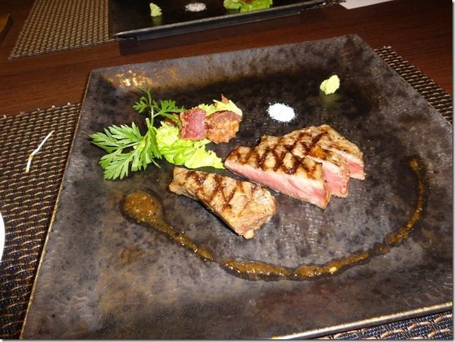 静岡県産牛ロースのグリエ