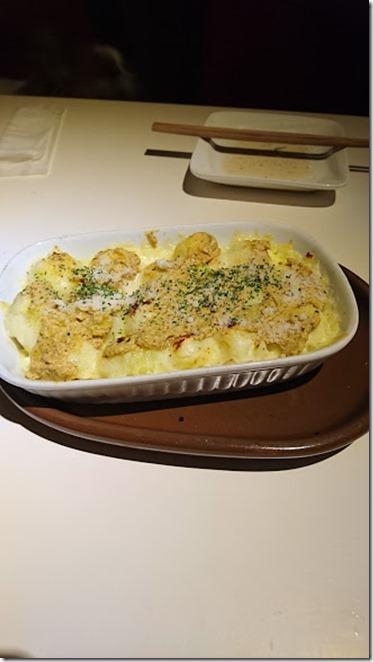 ポテトとチーズの粒マスタードグリル