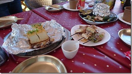 東京町田のドッグカフェプティシアンのBBQ食材
