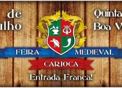 Acontece hoje a 5ª Edição de Feira Medieval Carioca