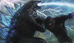Kong vs Godzilla!
