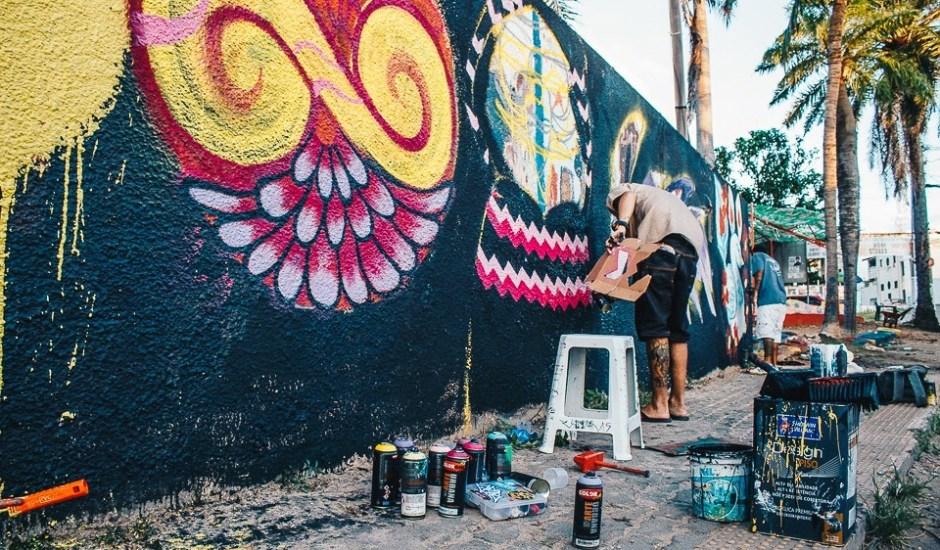 arte urbana no passo da pátria