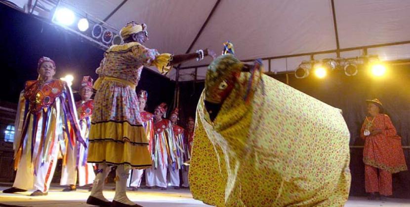 Pastoril do Boi de Reis da Associação Cultural do Bom Pastor. Crédito Canindé Soares