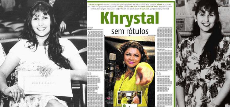 À jornalista Cinthia Lopes, meu obrigado