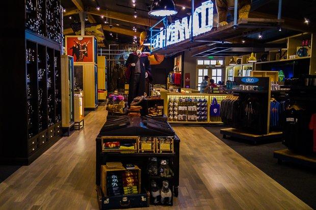 Loja da Warner Bros Studios   Foto produzida com LGG4