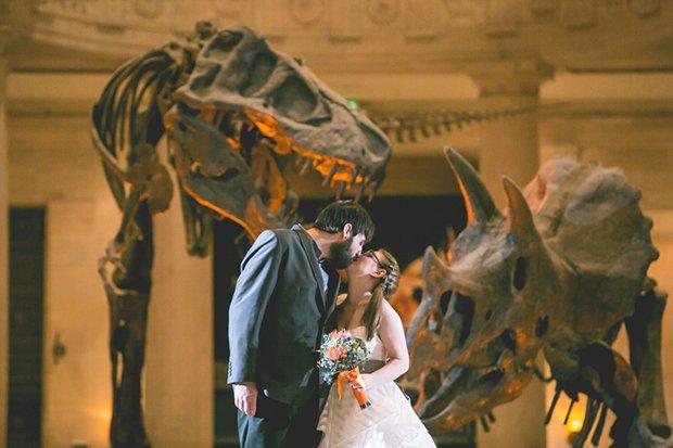 Casal no Museu