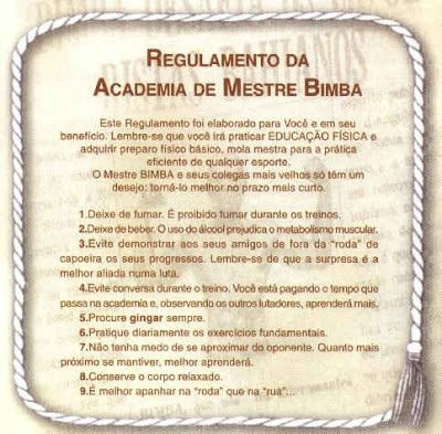 An Intro to Mestre Bimba Part 2: The Foundation of Capoeira Regional