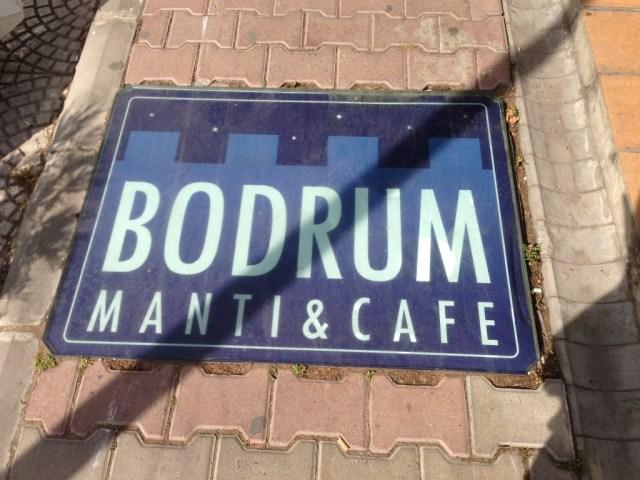 Simbolo do restaurante na entrada!