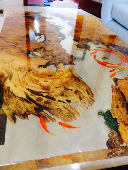 Amazing Resin Wood Table For Your Home Furniture 14