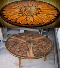 Amazing Resin Wood Table For Your Home Furniture 17
