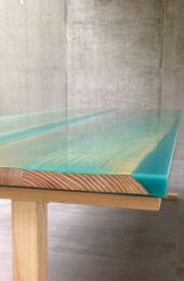 Amazing Resin Wood Table For Your Home Furniture 46