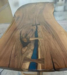 Amazing Resin Wood Table For Your Home Furniture 47
