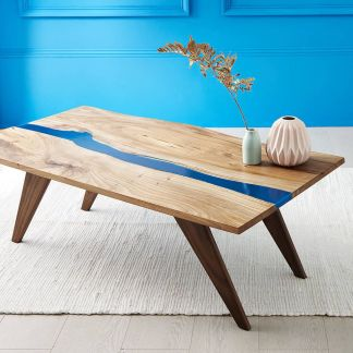 Amazing Resin Wood Table For Your Home Furniture 52