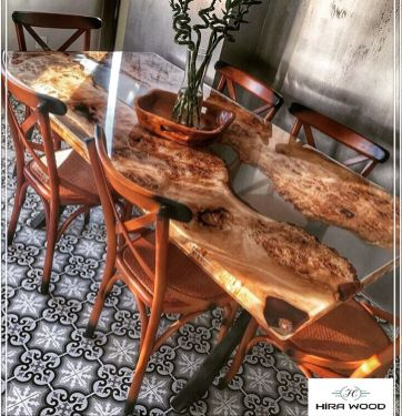 Amazing Resin Wood Table For Your Home Furniture 61