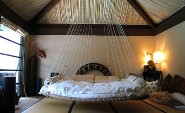 Cool Floating Bed Design Ideas 12