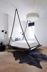 Cool Floating Bed Design Ideas 2