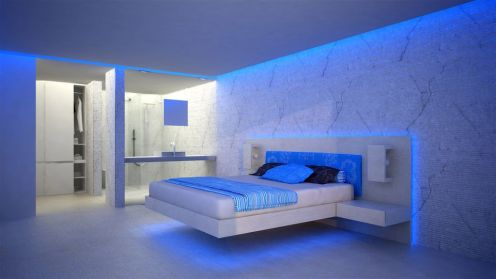 Cool Floating Bed Design Ideas 21