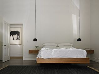 Cool Floating Bed Design Ideas 6