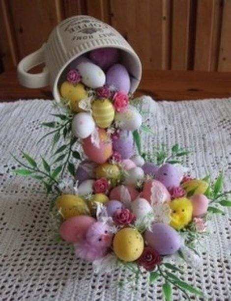 Inspiring Easter Decorations For The Home 37