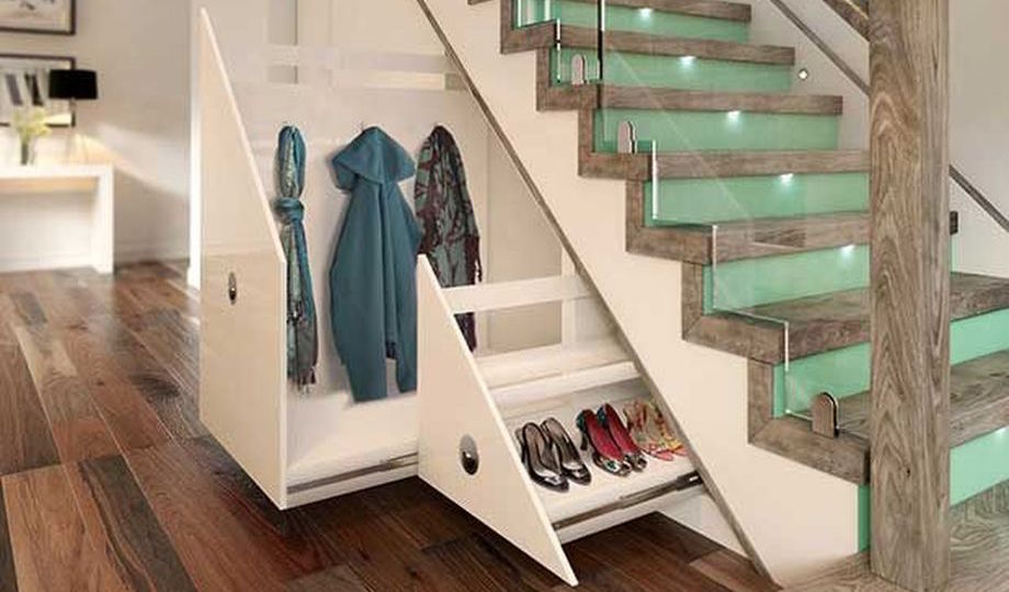 Cool Ideas To Make Storage Under Stairs