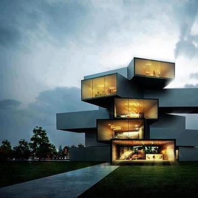 Modern Contemporary Urban House 6