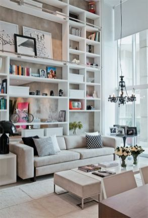 Awesome Modern Apartment Living Room Design Ideas 23