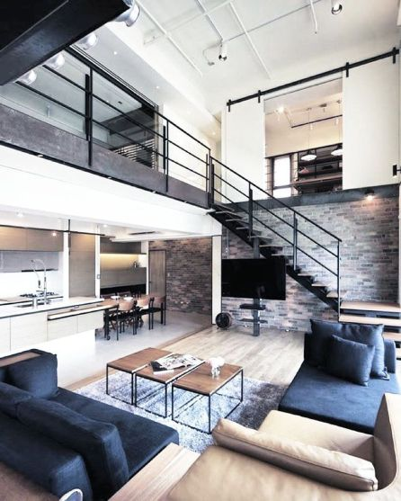 Awesome Modern Apartment Living Room Design Ideas 37