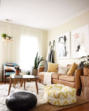 Awesome Modern Apartment Living Room Design Ideas 56