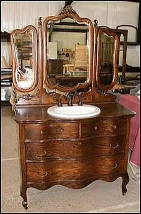 Awesome Rustic Country Bathroom Mirror Ideas 15