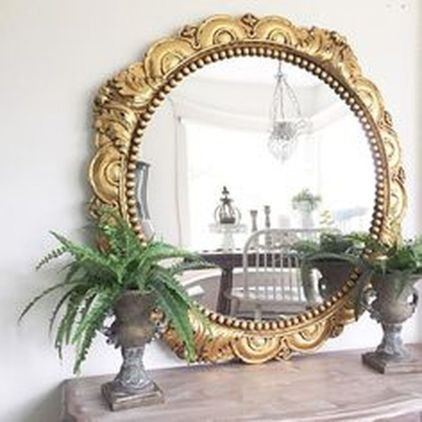 Awesome Rustic Country Bathroom Mirror Ideas 18
