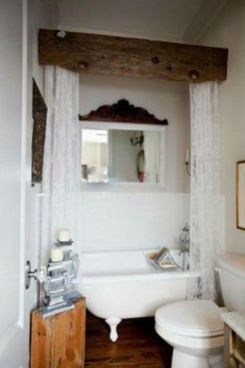 Awesome Rustic Country Bathroom Mirror Ideas 47