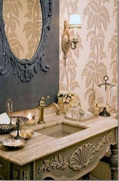 Awesome Rustic Country Bathroom Mirror Ideas 49