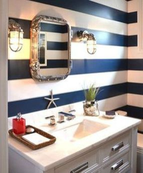 Awesome Rustic Country Bathroom Mirror Ideas 58