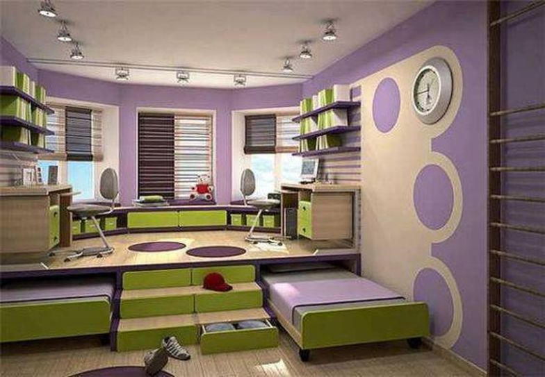 Awesome Small Bedroom Space Hacks Ideas 11