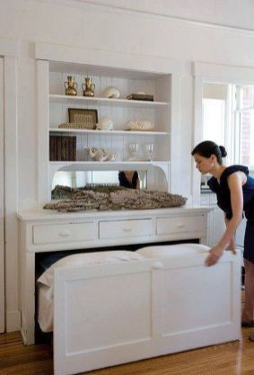 Awesome Small Bedroom Space Hacks Ideas 13