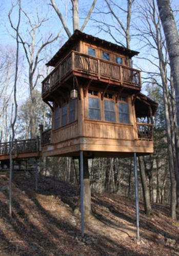 Awesome Treehouse Masters Design Ideas 105