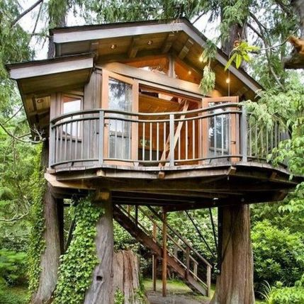 Awesome Treehouse Masters Design Ideas 110
