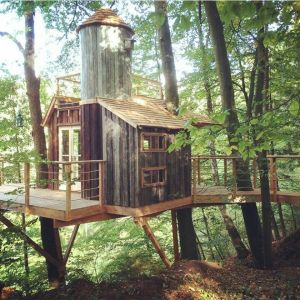 Awesome Treehouse Masters Design Ideas 14
