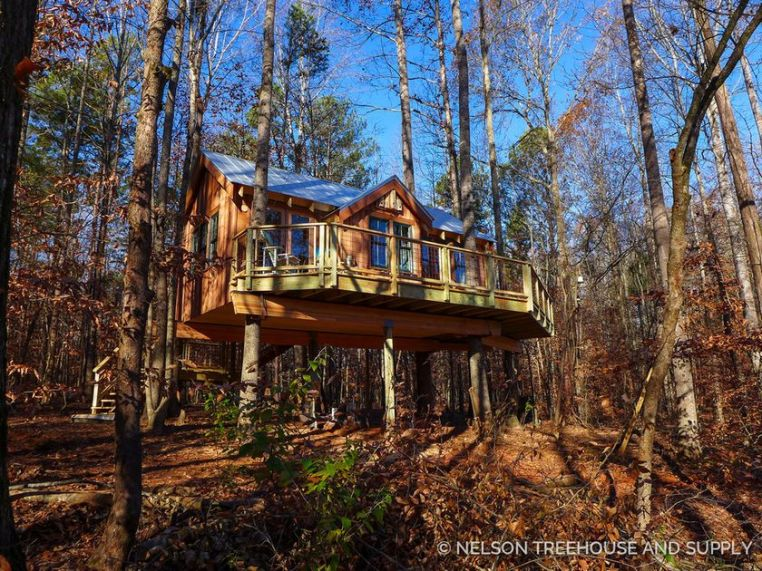 Awesome Treehouse Masters Design Ideas 19