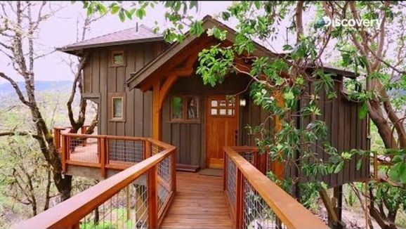 Awesome Treehouse Masters Design Ideas 48