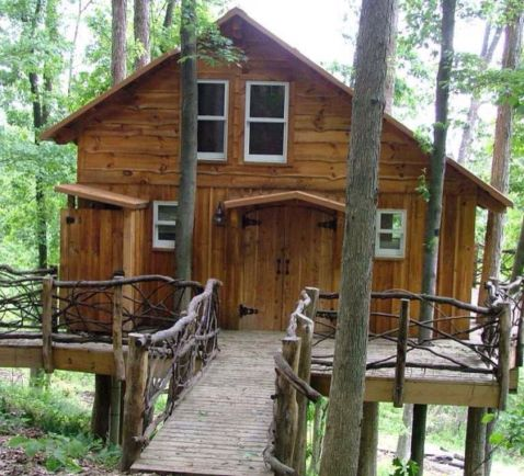 Awesome Treehouse Masters Design Ideas 8