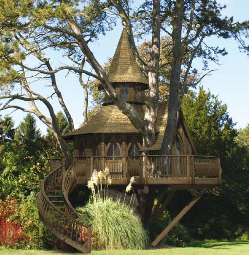 Awesome Treehouse Masters Design Ideas 81